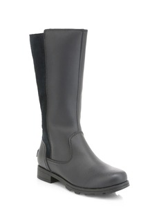 Sorel Girl's Waterpoorf Suede & Coated Leather Knee-High Rainboots