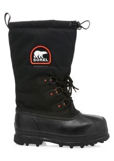Sorel Glacier Drawstring Lace-Up Boots