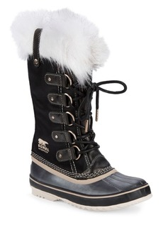 Sorel Joan of Arctic Faux Fur Trimmed Waterproof Boots