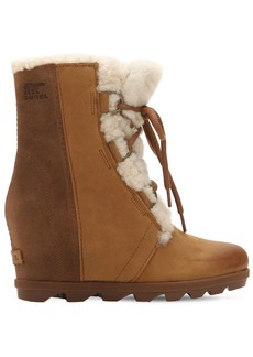 Sorel Joan Of Arctic Shearling Wedge Boots