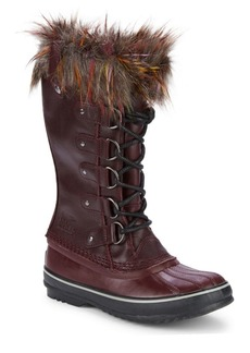 Sorel Joan of Arctic Waterproof Faux Fur Trimmed Boots
