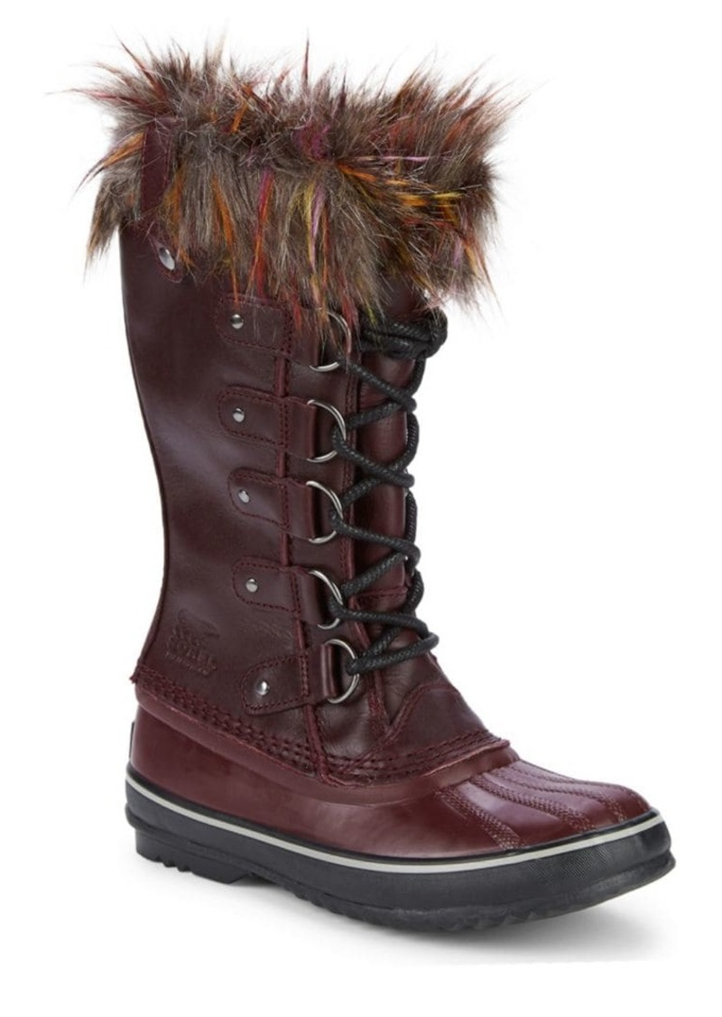 Sorel Joan of Arctic Waterproof Faux Fur Trimmed Boots