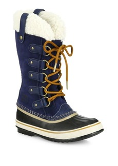 Sorel Joan Of Artic Suede and Shearling Winter Boots