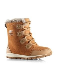 Sorel Kid's Whitney Suede & Faux Fur Boots