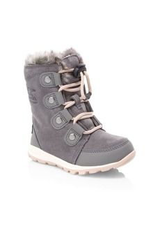 Sorel Kid's Whitney Suede Boots