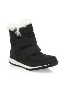 Sorel Kid's Whitney Waterproof Faux Fur-Cuff Boots
