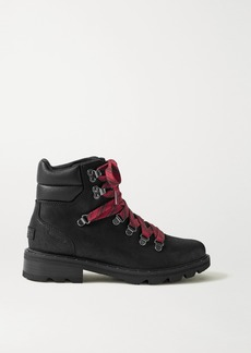 Sorel Lennox Hiker Waterproof Brushed-leather Ankle Boots