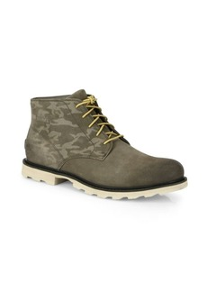 Sorel Madson Leather Camouflage Chukka Boots