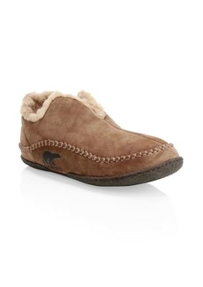 Sorel Manawan Faux-Shearling Slippers
