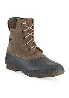Sorel Men's Cheyanne II Waterproof Suede Duck Boots