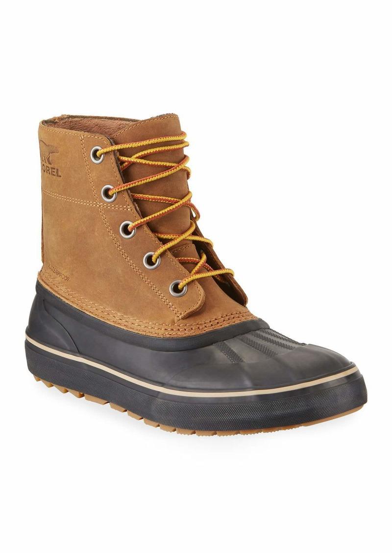Sorel Men's Cheyanne Metro Waterproof Lace-Up Duck Boots