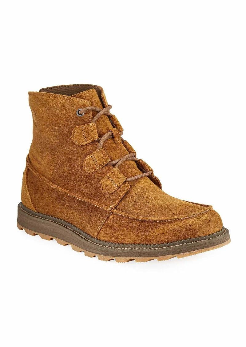 Sorel Men's Madson Caribou Tuman Waterproof Suede Boots