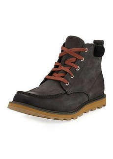 Sorel Men's Madson Moc-Toe Waterproof Leather Hiker Boots