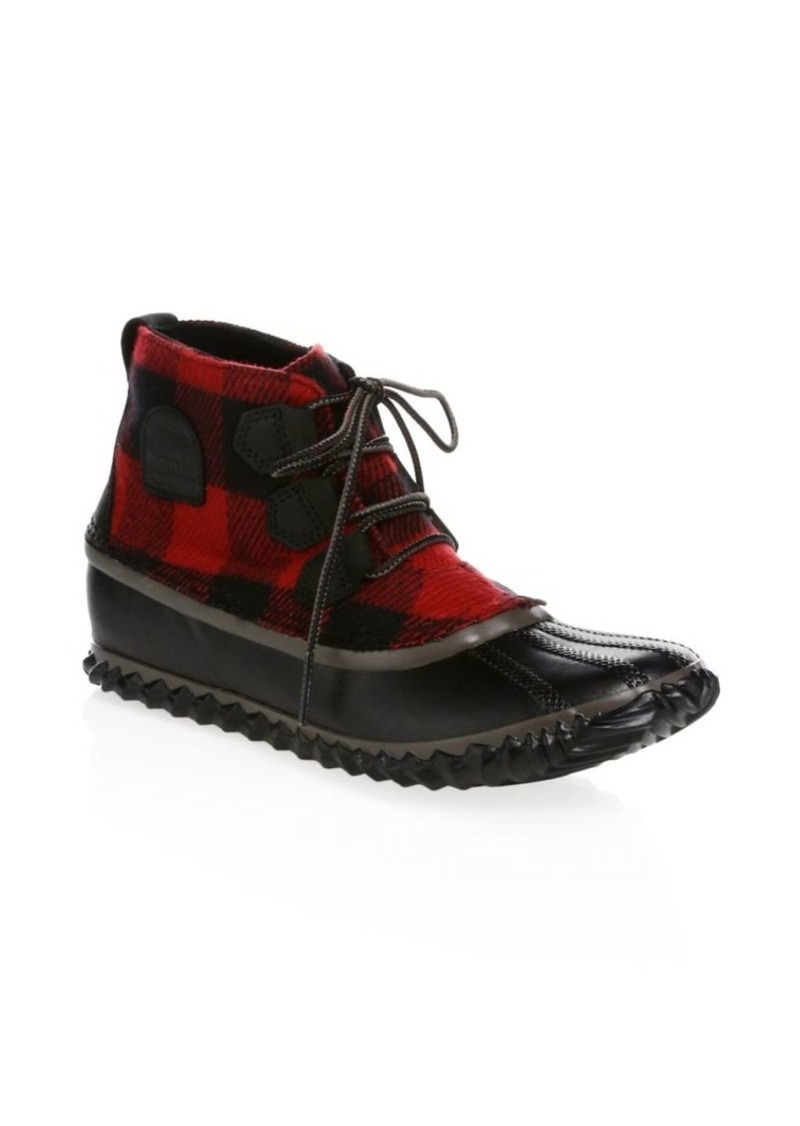 Sorel Out & About Leather Booties