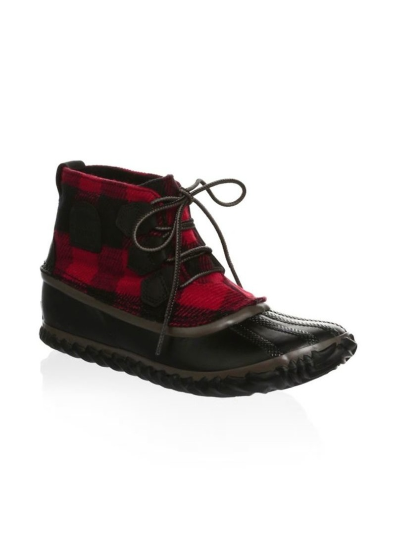 Sorel Out N' About Leather Duck Boots