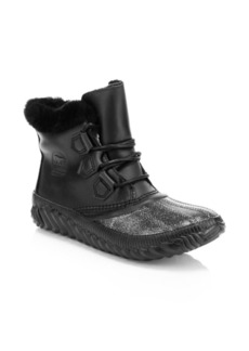 Sorel Out N About Shearling Lined Lux Boots