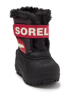 Sorel Snow Commander Faux Fur Lined Boot (Baby & Toddler)