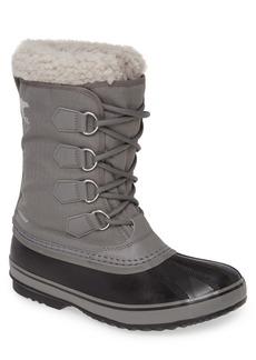 SOREL 1964 Pac Faux Shearling Trim Waterproof Snow Boot (Men)