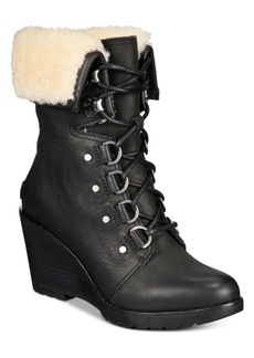 Sorel After Hours Lace-Up Boots Women's Shoes