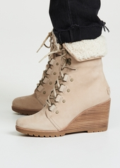 Sorel After Hours Lace Up Shea Boots