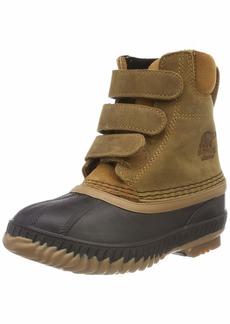 SOREL Boys' Children's Cheyanne II Velcro Snow Boot elk Black