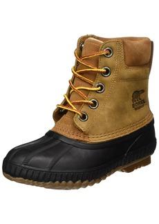 SOREL Boys' Youth Cheyanne II Lace Chukka Boot elk Black