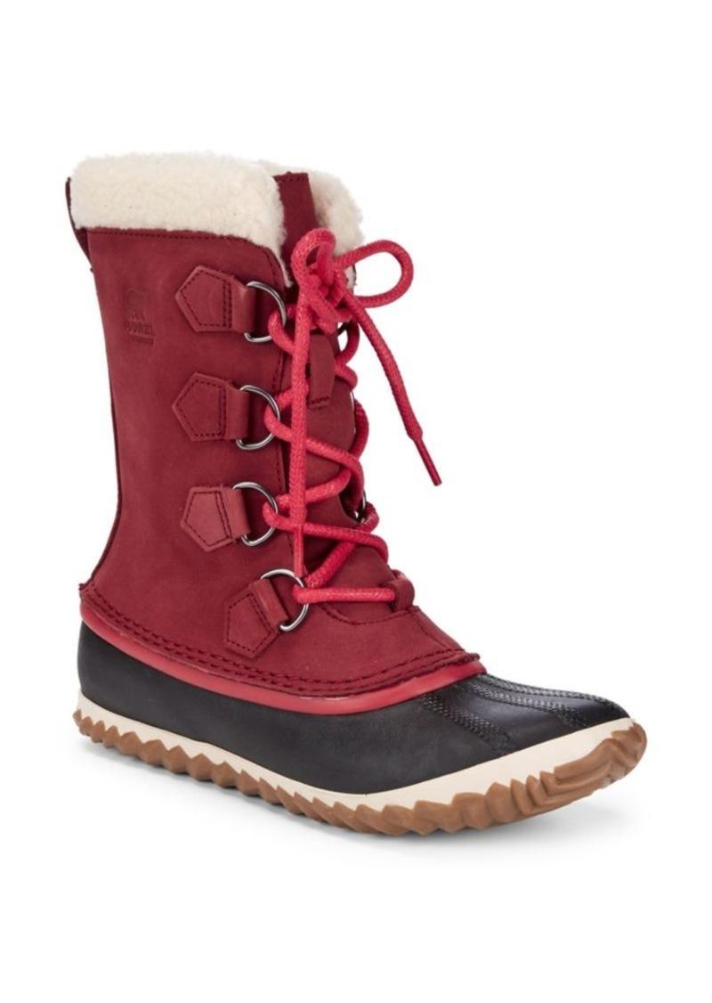 Sorel Caribou Faux Fur-Lined Cold Weather Boots