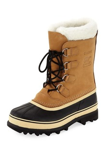 Sorel Men's Caribou Shearling-Lined All Weather Waterproof Duck Boot
