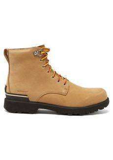 Sorel Caribou Six waterproof nubuck-leather boots