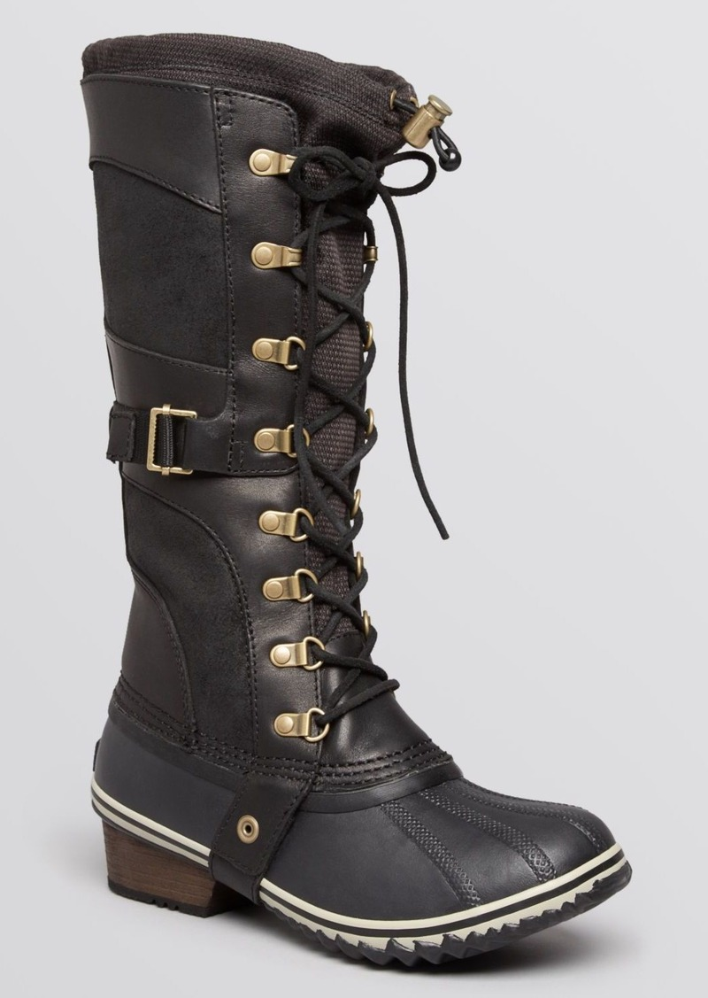 Sorel Conquest Carly Lace Up Cold Weather Boots