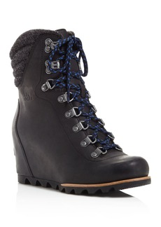 Sorel Conquest Lace Up Wedge Booties - 100% Exclusive