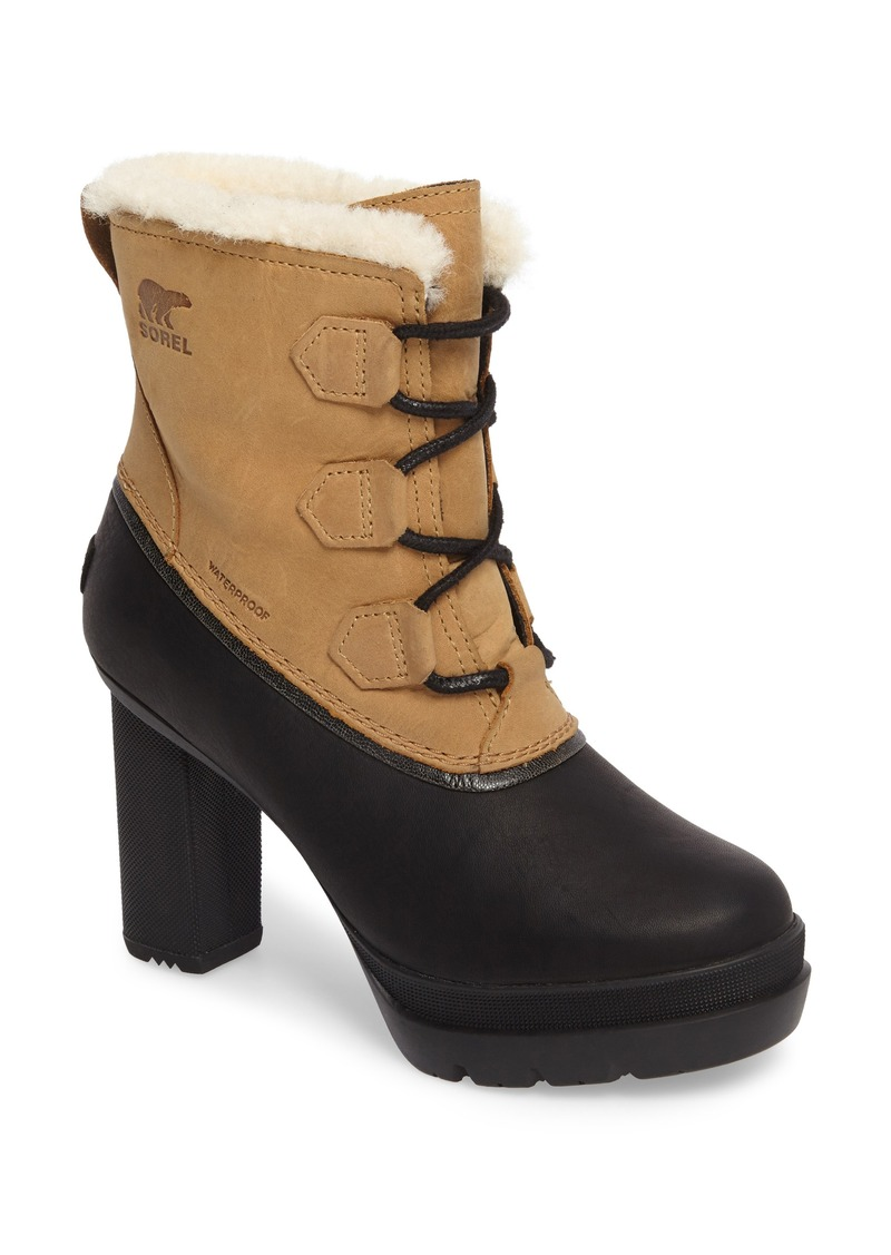 2049fc09bef Sorel SOREL Dacie Genuine Shearling Cuff Waterproof Boot (Women)