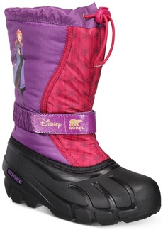 Sorel Disney x Sorel Big Girls Flurry Frozen 2 Boots Women's Shoes