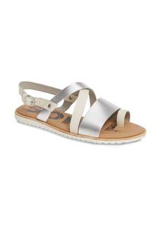 SOREL Ella Criss Cross Sandal (Women)