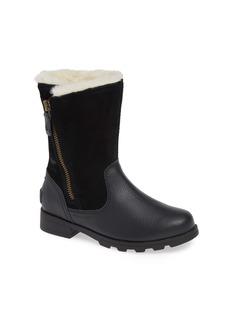 SOREL Emelie Waterproof Faux Fur Lined Boot (Little Kid & Big Kid)