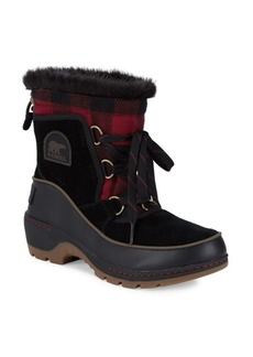 Sorel Faux Fur-Lined Cold Weather Boots