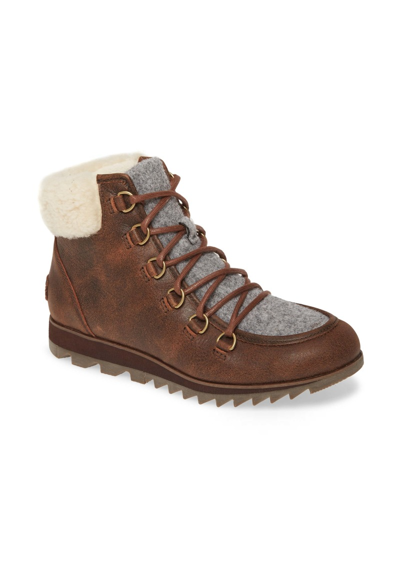SOREL Harlow Genuine Shearling Bootie (Women)