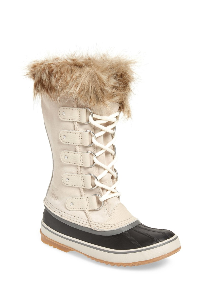 SOREL Joan of Arctic Faux Fur Waterproof Snow Boot (Women)