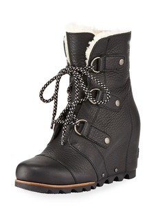 Sorel Joan Of Arctic Leather Wedge Boot