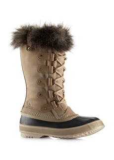 Sorel Joan of Arctic Waterproof Suede Faux Fur Boots