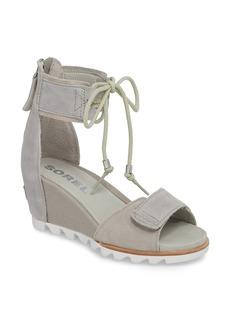 SOREL Joanie Cuff Wedge Sandal (Women)