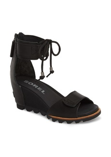 SOREL Joanie Cuff Wedge Sandal (Women)