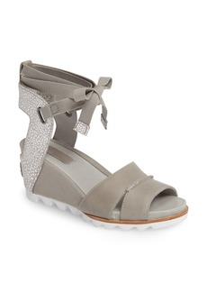 SOREL Joanie Wrap Wedge Sandal (Women)