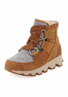 Sorel Kinetic Short Waterproof Suede/Felt Hiker Boots