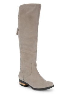 Sorel Knee-High Suede Boots