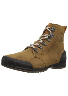 SOREL Men's Ankeny Mid Hiker Hiking Boot elk Black