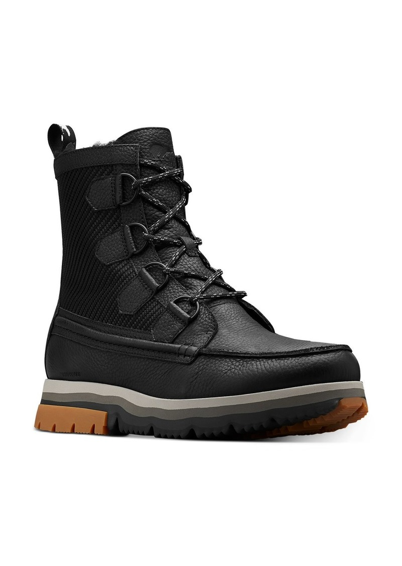 Sorel Men's Atlis Caribou Waterproof Shearling-Lined Boots