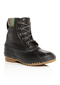 Sorel Men's Cheyanne II Premium Waterproof Leather Cold-Weather Boots