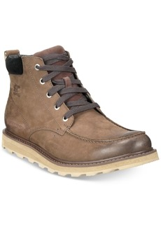 Sorel Men's Madson Waterproof Moc-Toe Boots Men's Shoes