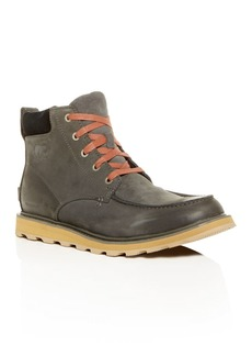 Sorel Men's Madson Waterproof Nubuck Leather Cold-Weather Boots